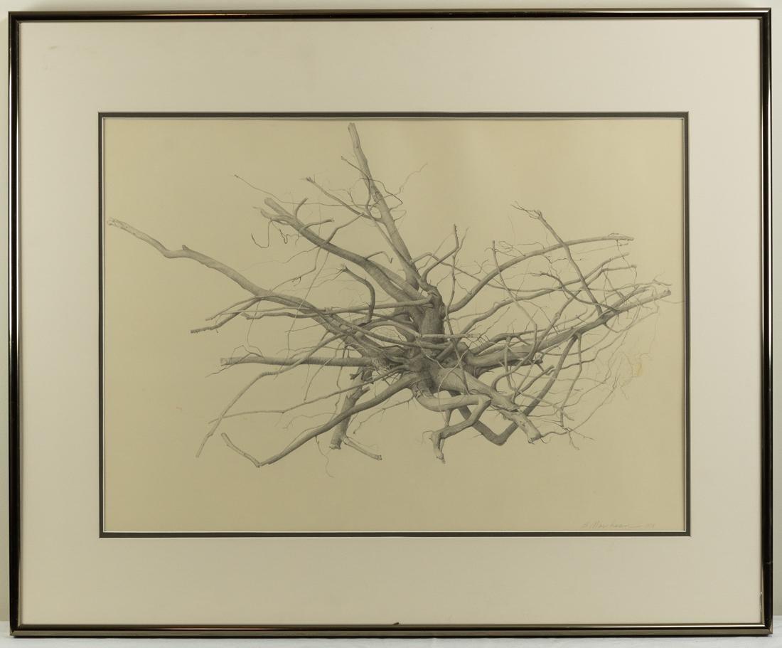 Bonnie Maclean (PA, 1939-?) Pencil