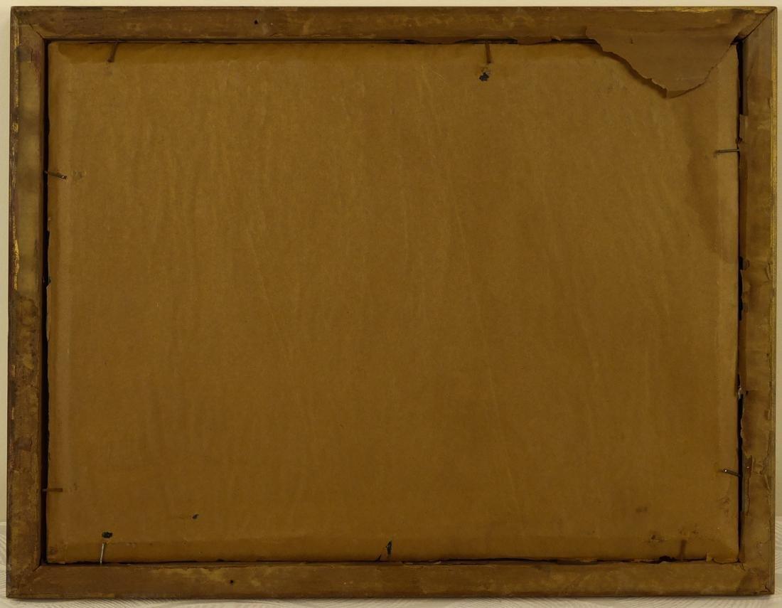 Sailships Oil on Artist Board - 9