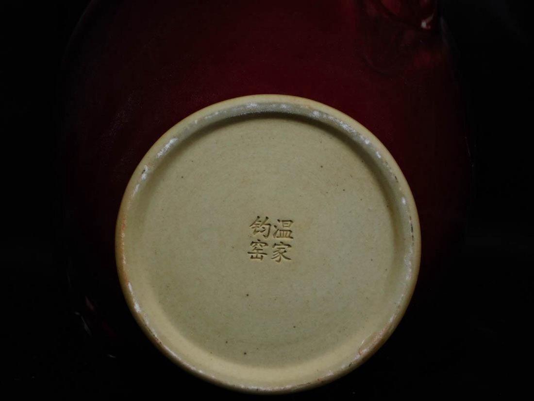 Chinese Oxblood Vase - 5