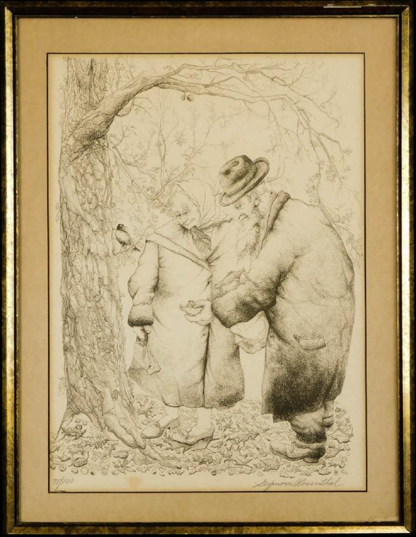 Seymour J. Rosenthal, (NY 1921 - 2007) Print