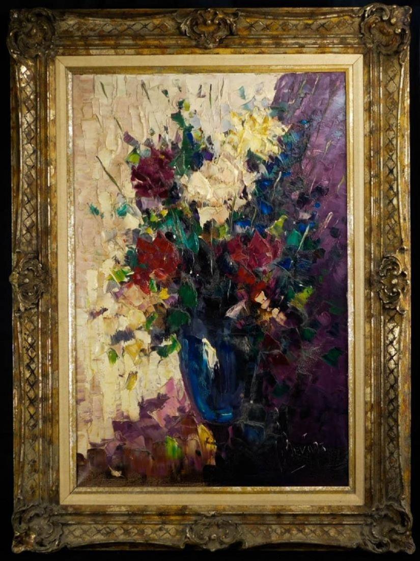 Impressionist Still Life Oil