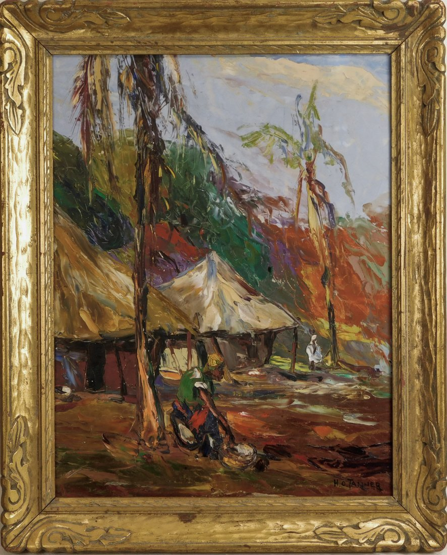 Henry Tanner  (PA1859 - 1937) Impressionist Oil