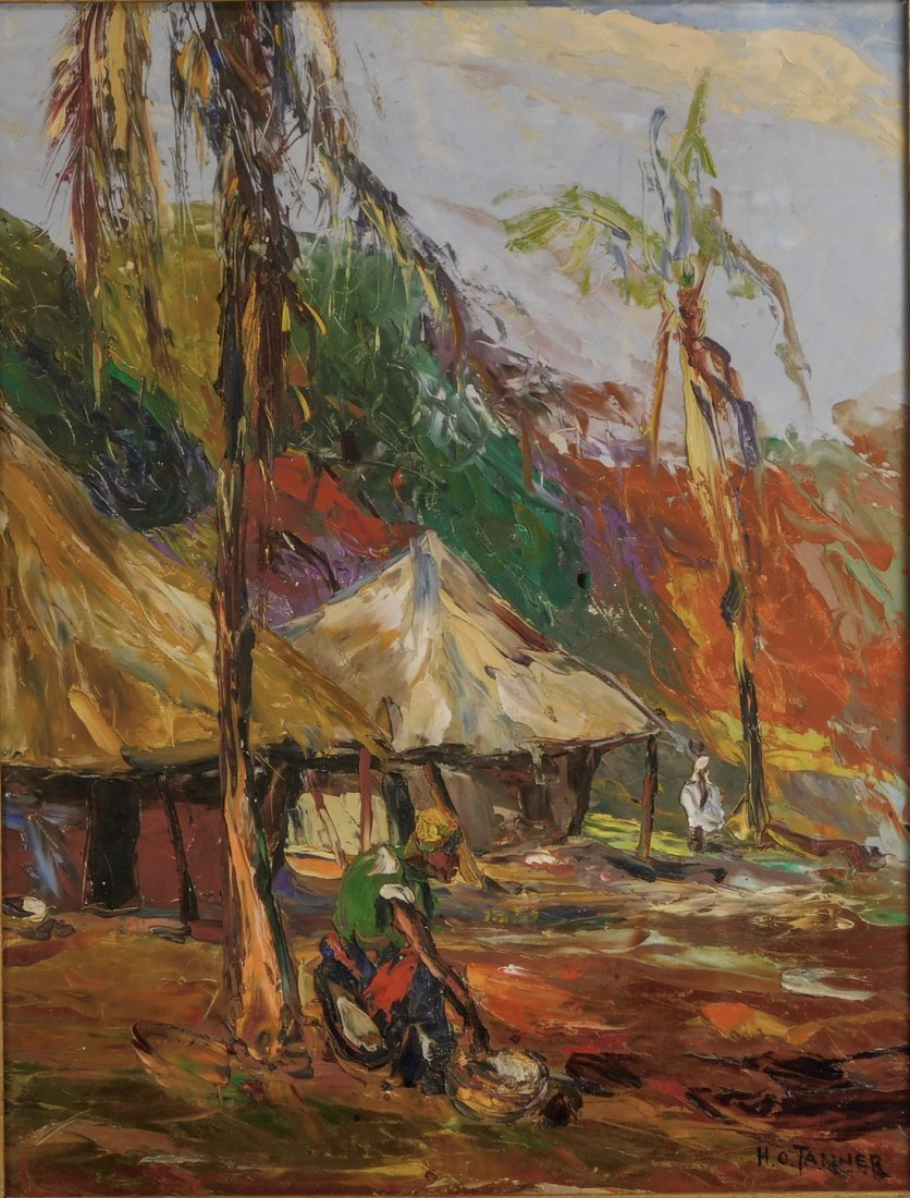 Henry Tanner  (PA1859 - 1937) Impressionist Oil - 2