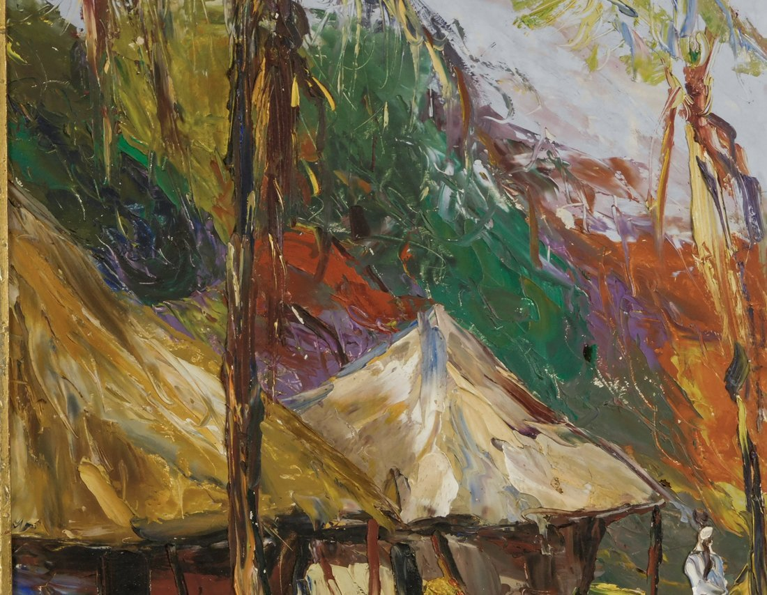 Henry Tanner  (PA1859 - 1937) Impressionist Oil - 4