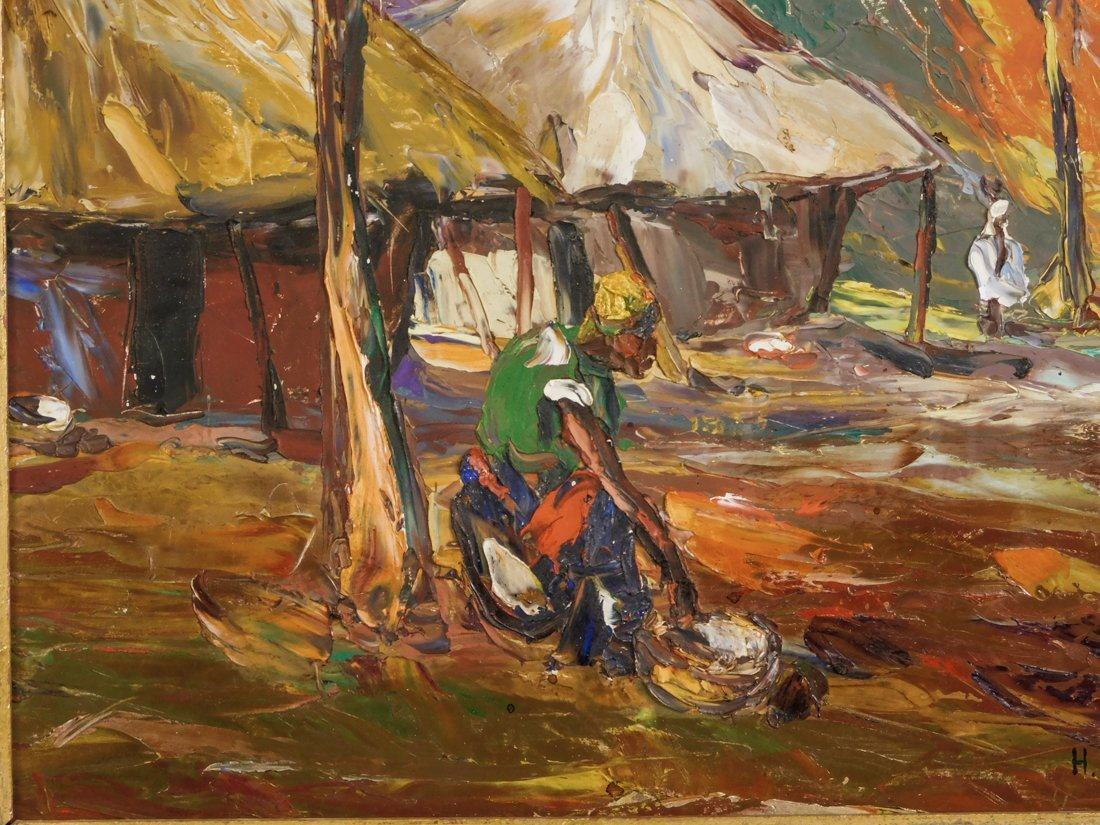 Henry Tanner  (PA1859 - 1937) Impressionist Oil - 5