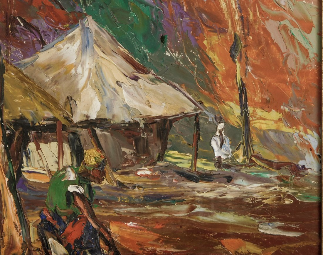 Henry Tanner  (PA1859 - 1937) Impressionist Oil - 7