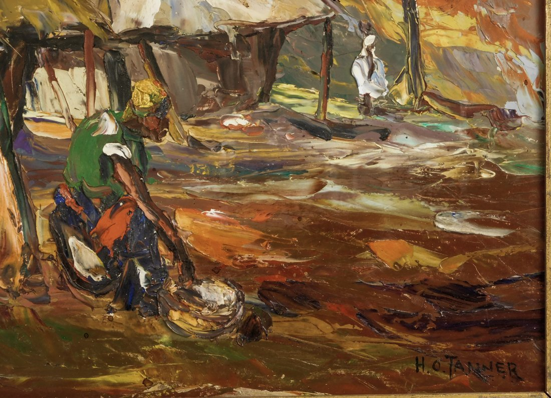 Henry Tanner  (PA1859 - 1937) Impressionist Oil - 8
