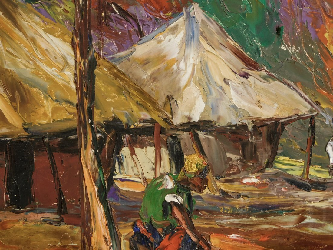 Henry Tanner  (PA1859 - 1937) Impressionist Oil - 9