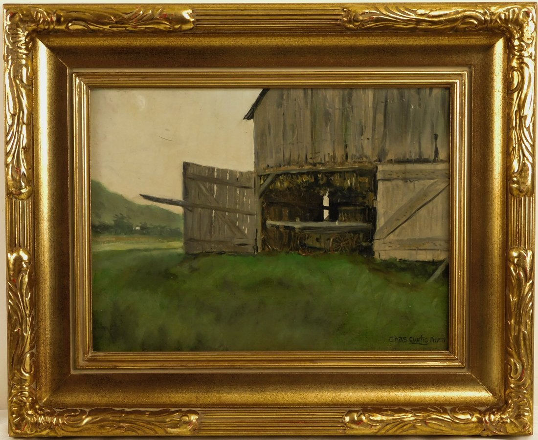 Charles Curtis Allen  (MA/VT1886 - 1950) Oil Painting
