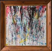 Norman Bluhm  (NY, 1921 - 1999) Abstract Oil
