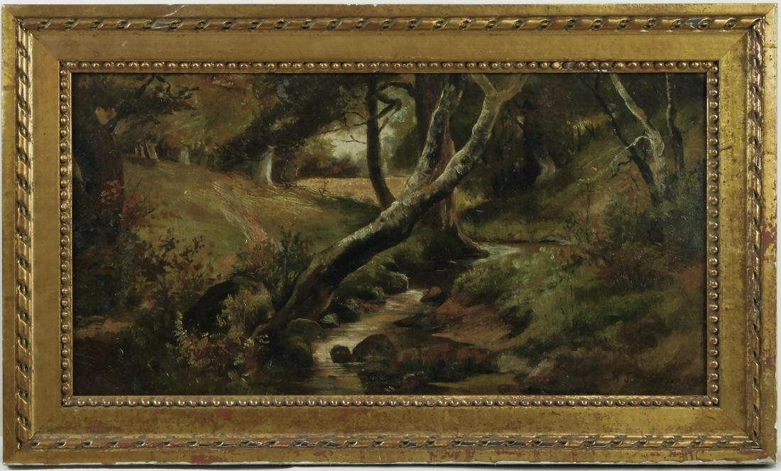 Robert Onderdonk (TX 1852 - 1917) Oil