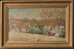 Robert Spencer 1879-1931 Oil Summer Landscape