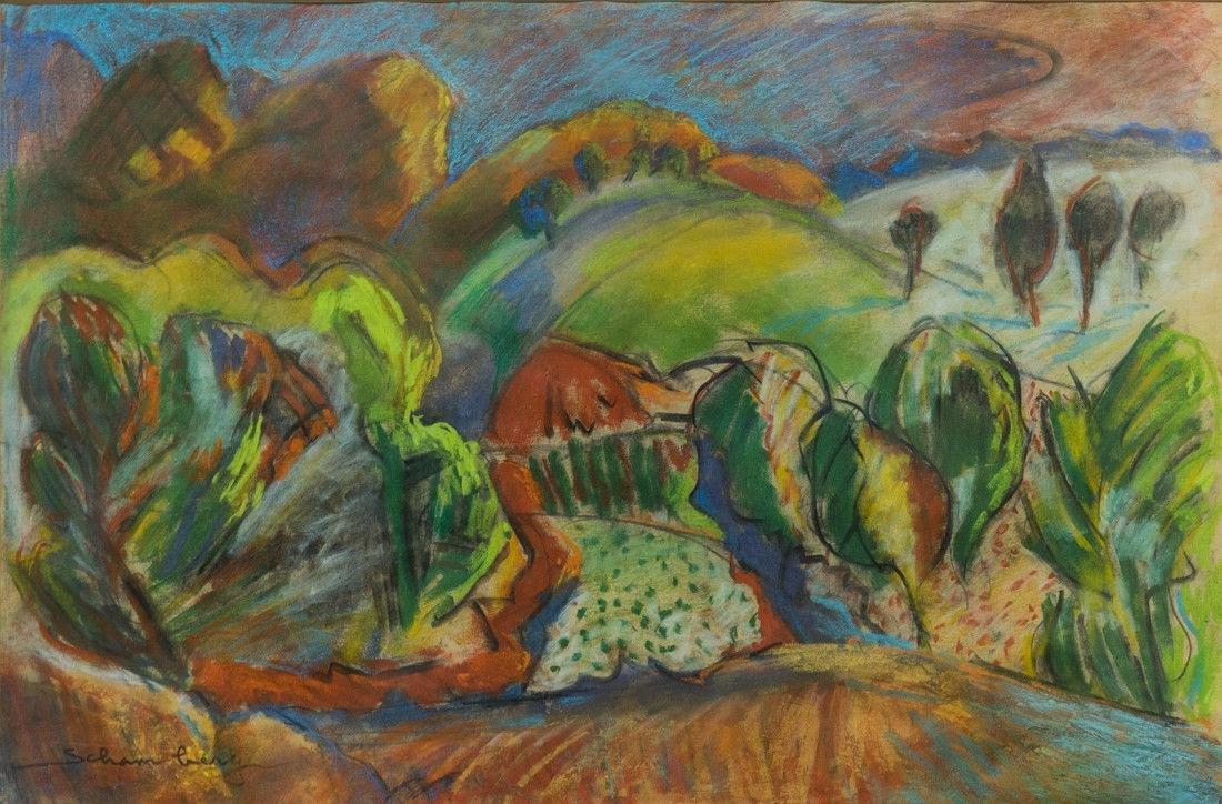 Morton Schamberg 1881-1918 Pennsylvania Artist Orig, - 2