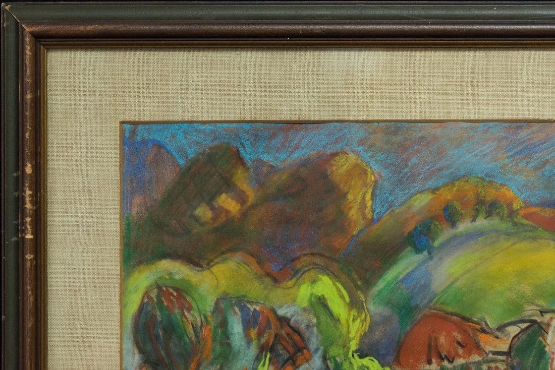 Morton Schamberg 1881-1918 Pennsylvania Artist Orig, - 3