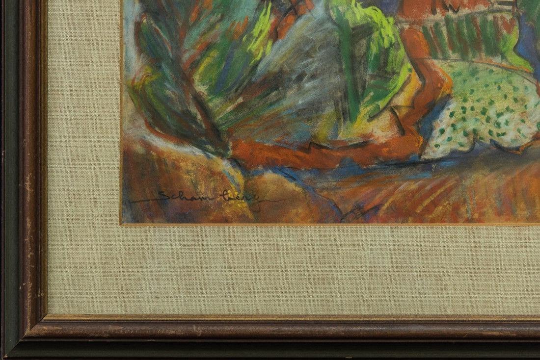 Morton Schamberg 1881-1918 Pennsylvania Artist Orig, - 4