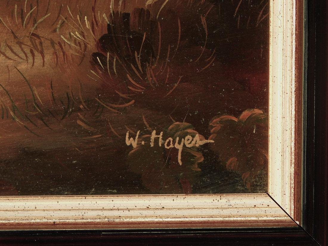 "Early 20th Century British Oil ""Portrait of Hunter"" - 8"
