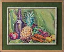 Clarence Keiser Hinkle (CA 1880-1960) Watercolor