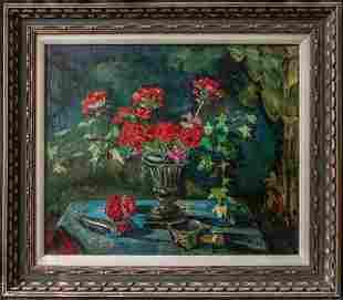 Liu Kang (China, Singapore 1911 - 2005) | Oil / Canvas,