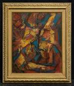 Hale Aspacio Woodruff (1900 - 1980) New York Abstract
