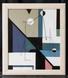 Charles Green Shaw  (1892 - 1974) New York Artist Oil
