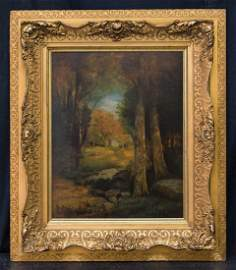 George Inness  (1825 - 1894) NY/MA Artist Oil