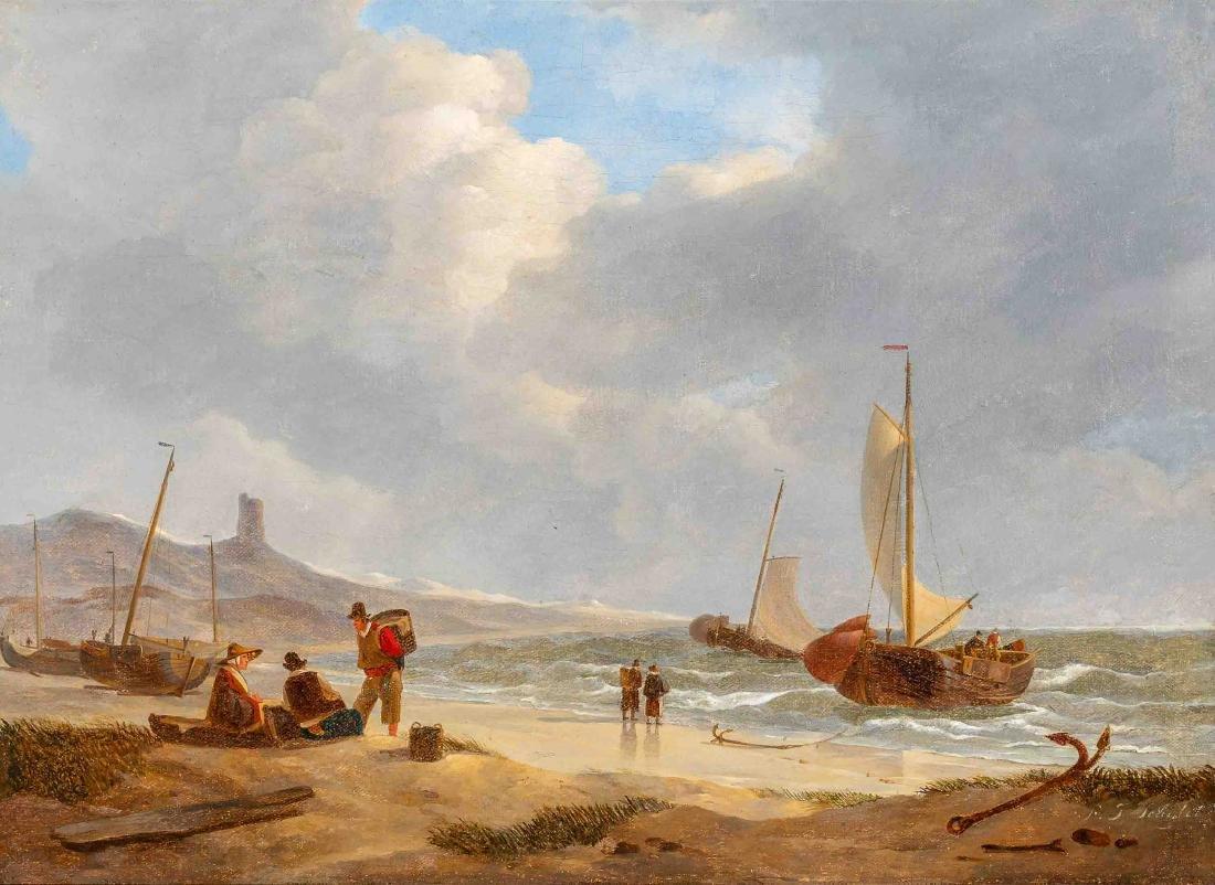 Petrus Johannes Schotel (Dordrecht 1808 - Dresden 1865)