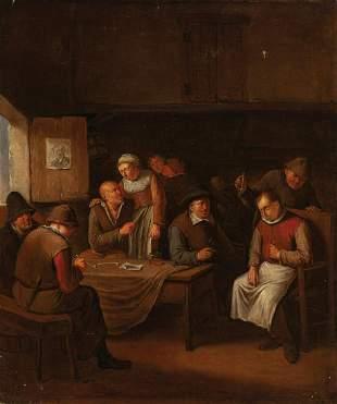 Egbert van Heemskerck I (Haarlem 1634 - London 1704)
