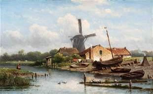 Eduard Alexander Hilverdink (Amsterdam 1846 - 1891)