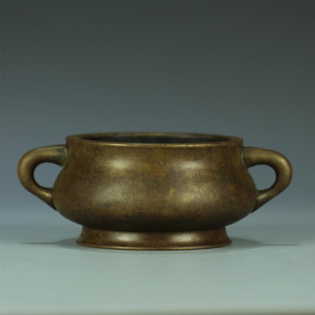 CAST BRONZE CENSER