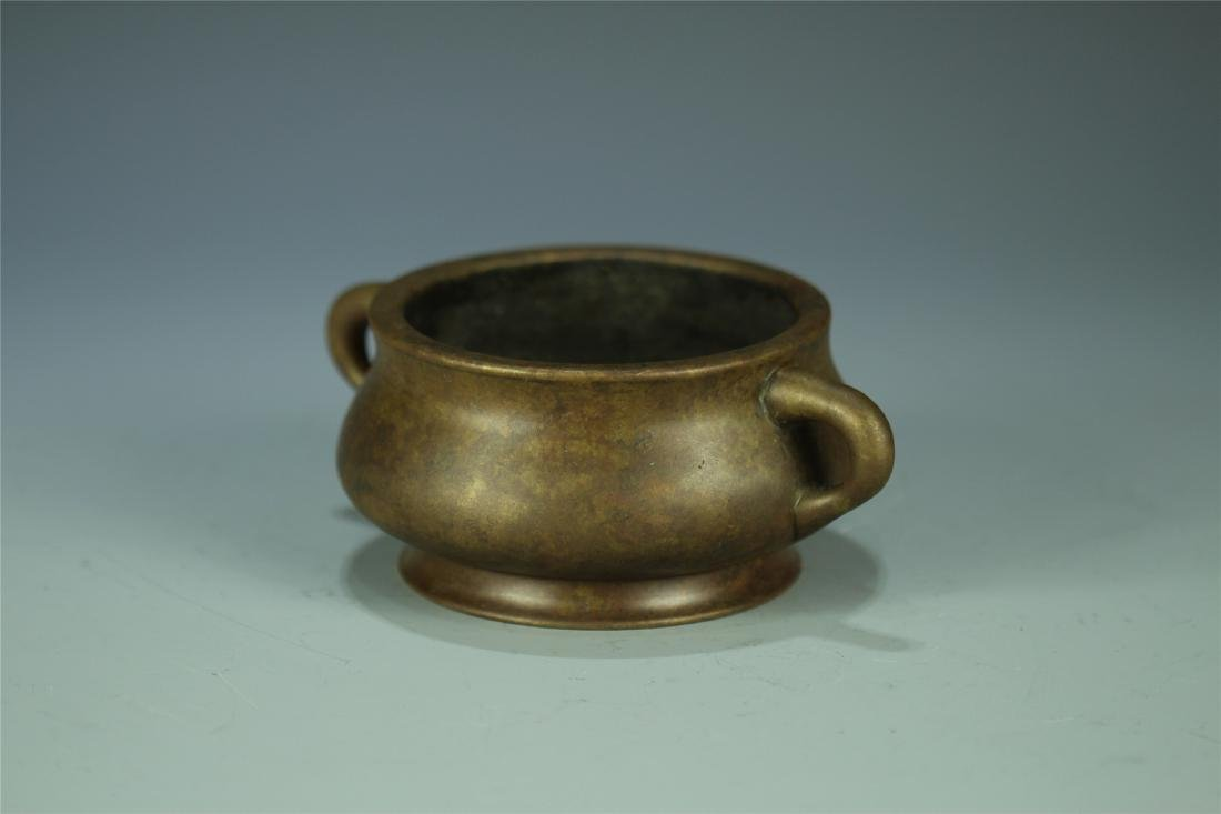 CAST BRONZE CENSER - 2