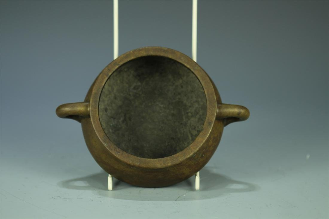 CAST BRONZE CENSER - 3