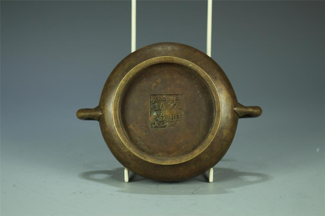 CAST BRONZE CENSER - 4