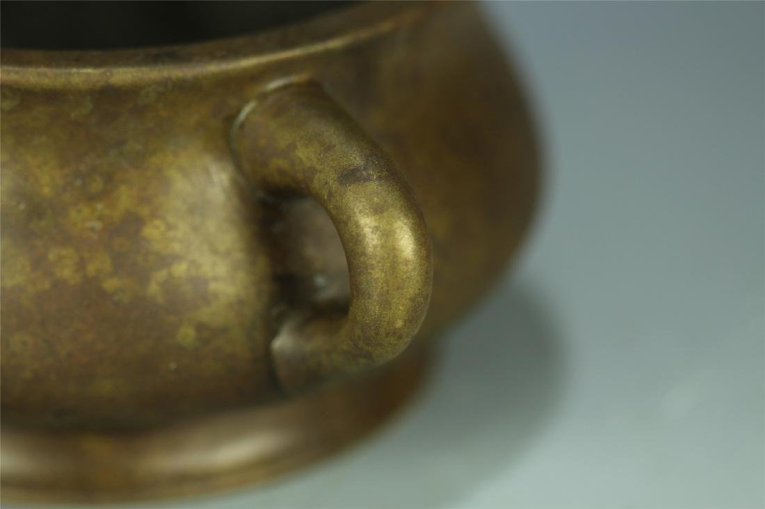CAST BRONZE CENSER - 5