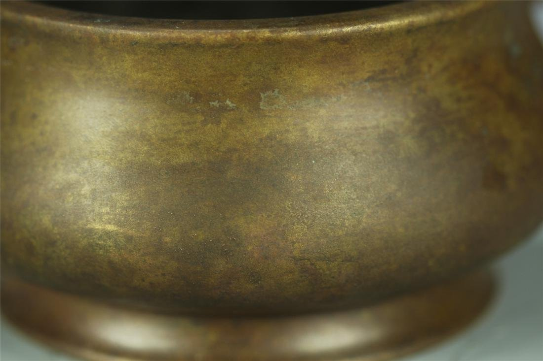 CAST BRONZE CENSER - 7