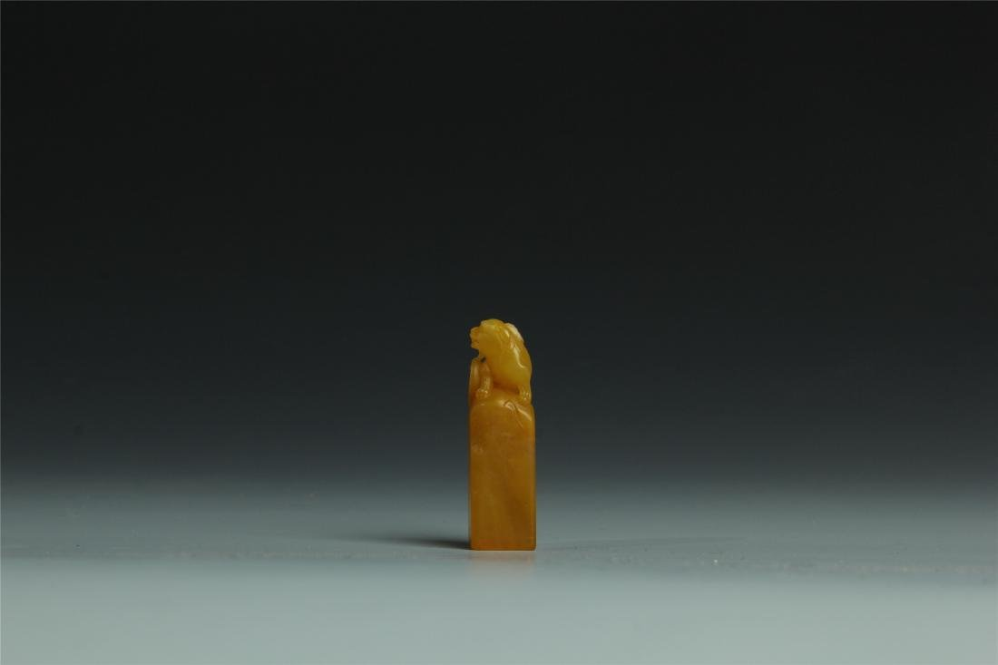 TIANHUANG STONE SCHOLAR'S SEAL - 3
