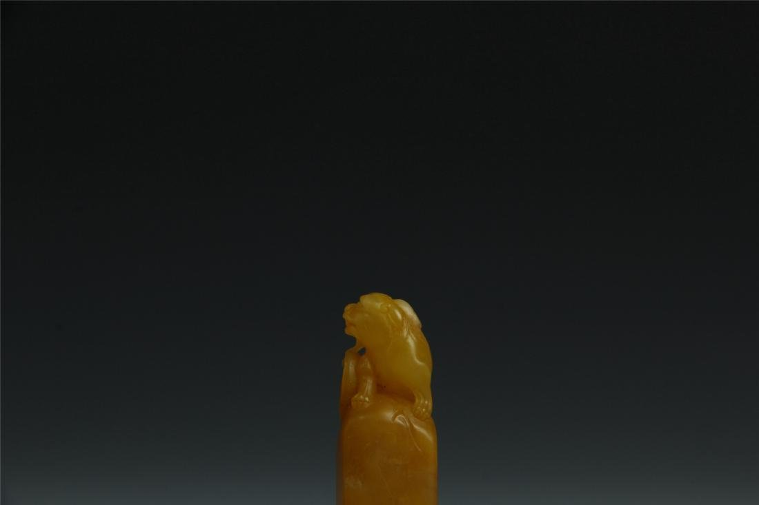 TIANHUANG STONE SCHOLAR'S SEAL - 4