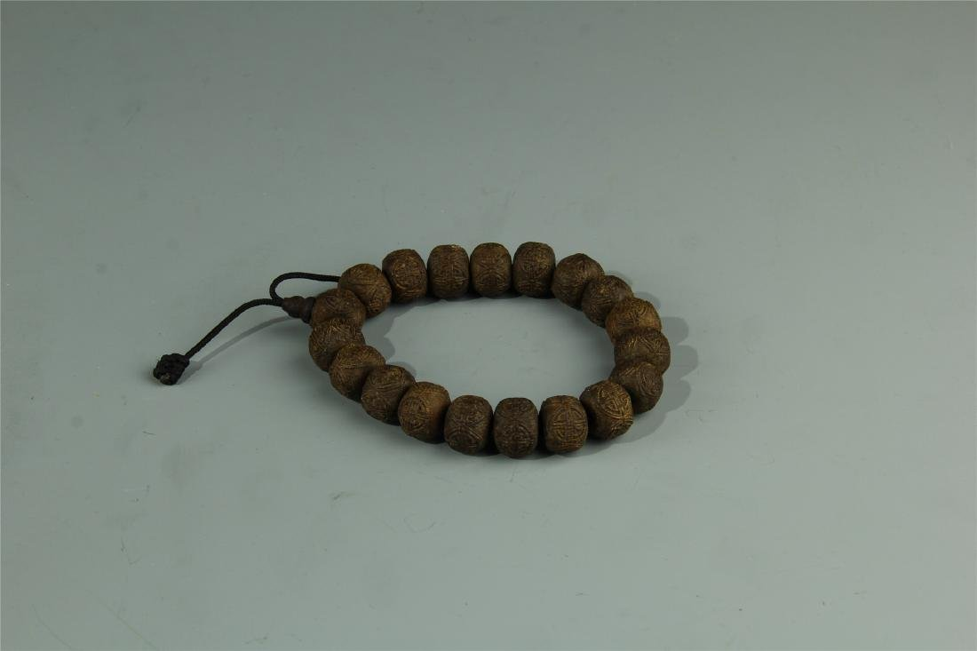 AGARWOOD BEADS WAIST LACE - 2