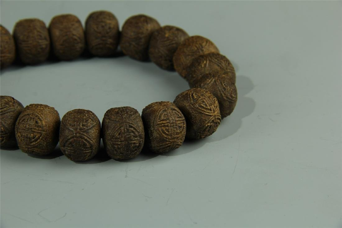 AGARWOOD BEADS WAIST LACE - 4