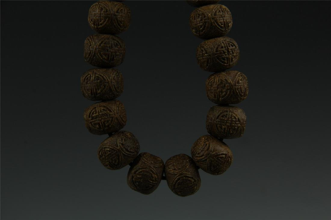 AGARWOOD BEADS WAIST LACE - 5