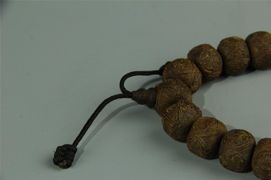 AGARWOOD BEADS WAIST LACE - 6