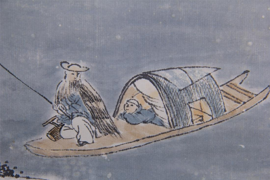 CHINESE SCROLL PAINTING OF MOUNTAIN VIEWS - 10