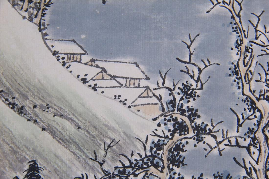 CHINESE SCROLL PAINTING OF MOUNTAIN VIEWS - 9