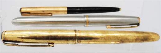 Gold Filled Fountain Pens