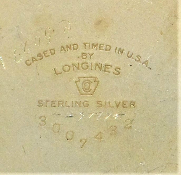Longines Sterling Silver Pocket Watch Military Rare - 10