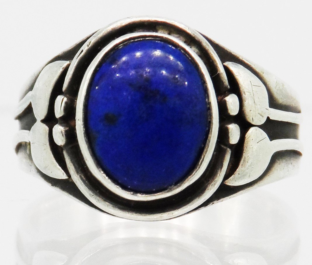 Sterling Silver Native American Ring Lapis