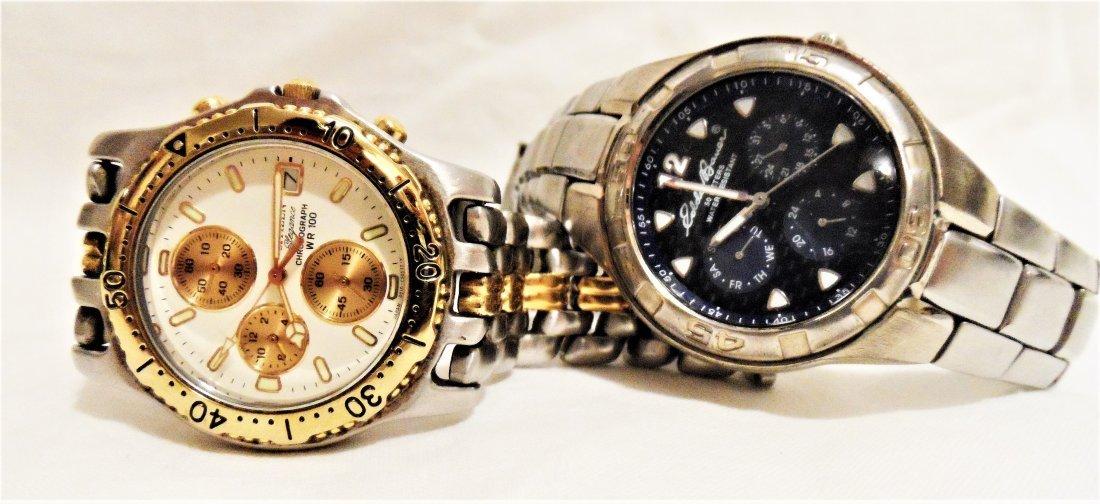 Citizen & Fossil Wrist Watch lot
