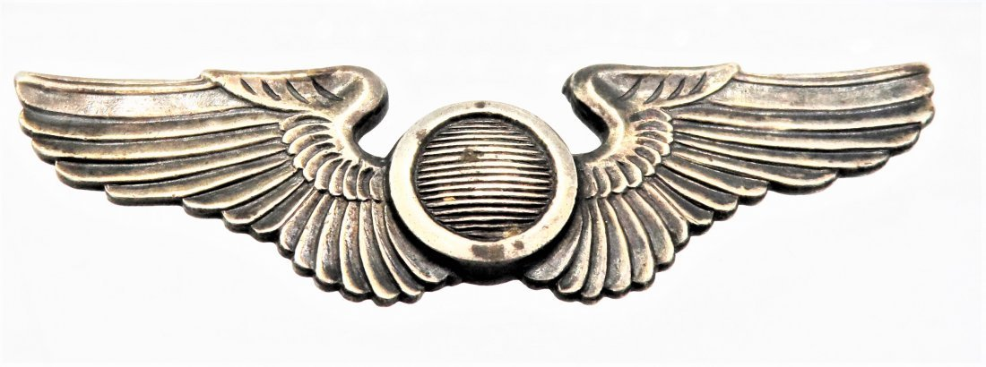 Sterling Silver WWII Pilots Wings