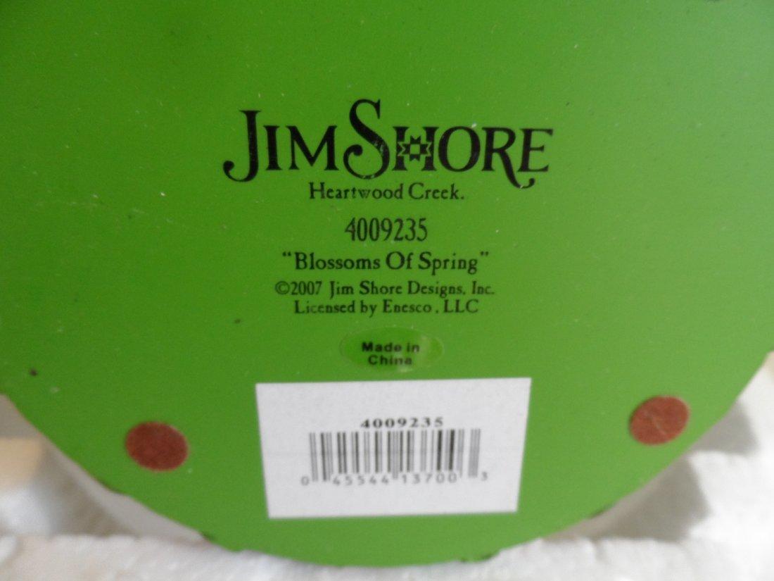 Jim Shore Blossoms of Spring Easter Basket Eggs - 5