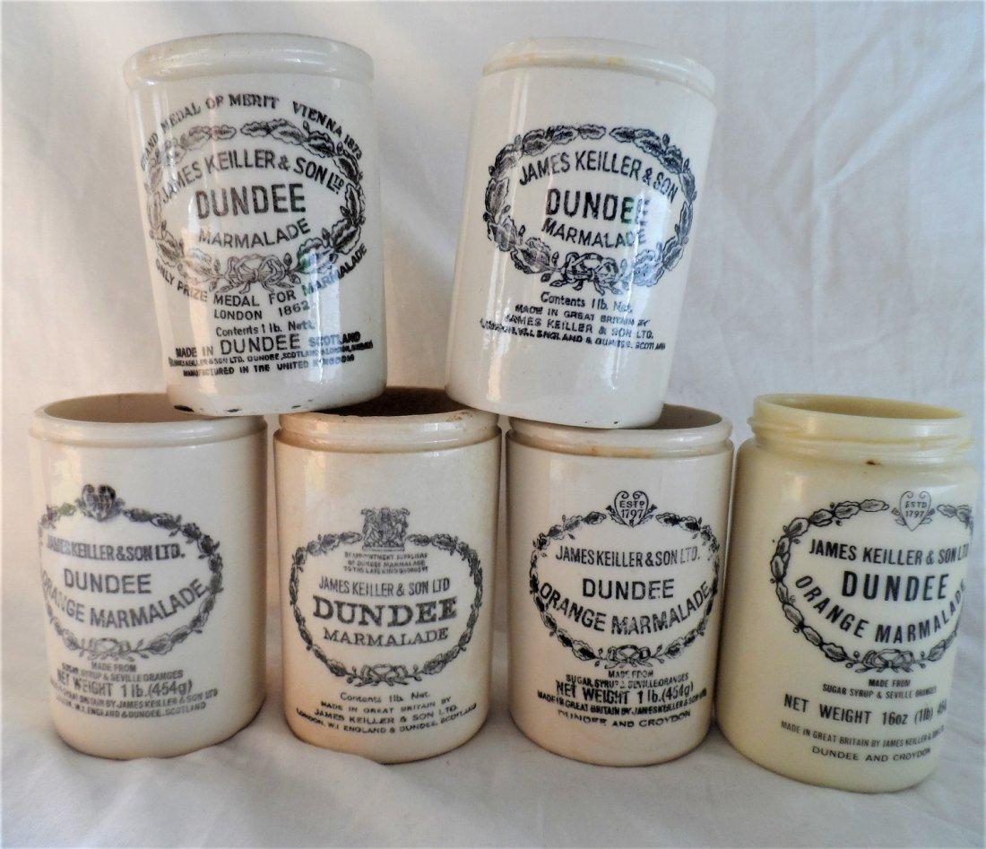 James Dunder & Son Marmalade Stoneware Grouping