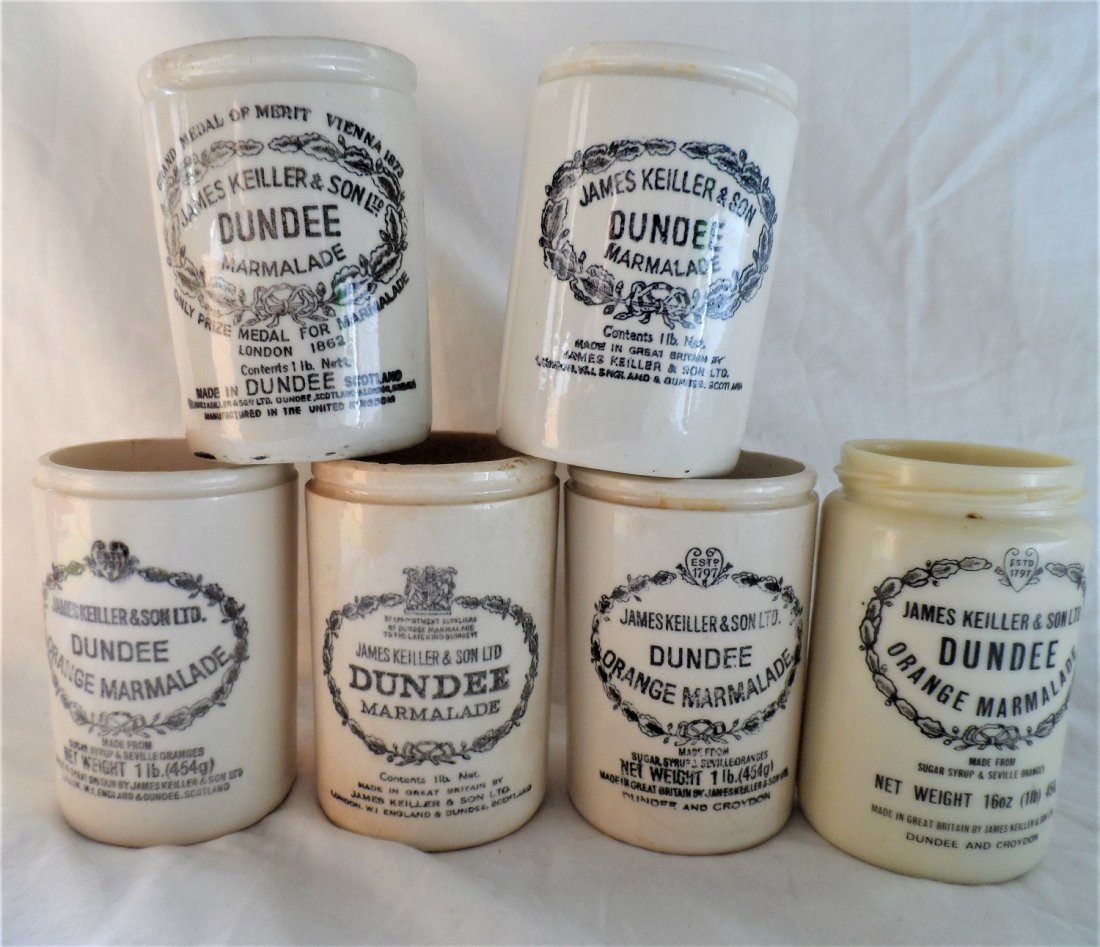 James Dunder & Son Marmalade Stoneware Grouping